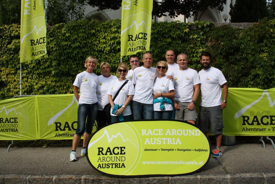 Mein Betreuerteam ab St.Georgen in Halbenrain kommt Erwin dazu und als letztes Team Mitglied steigt Daniela in Schwarz/Tirol zu.