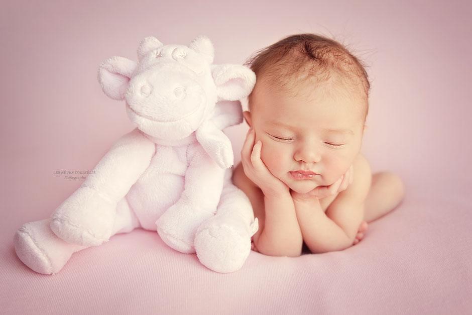 photographe nouveau-né bébé Toulon