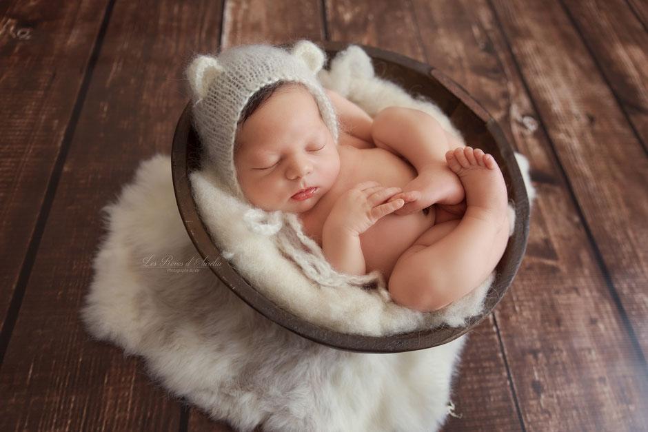 Photographe bébé nouveau-né Fréjus, Gassin, Sainte Maxime, Grimaud, Draguignan, Cannes