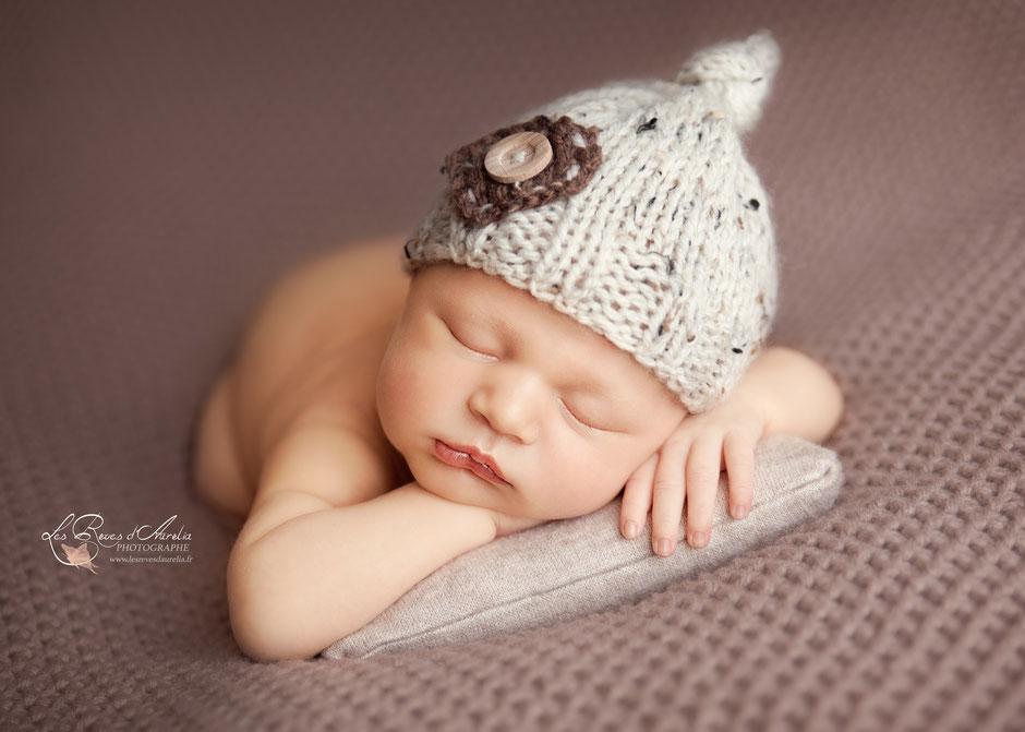 Photographe nouveau-né bébé St Raphaël