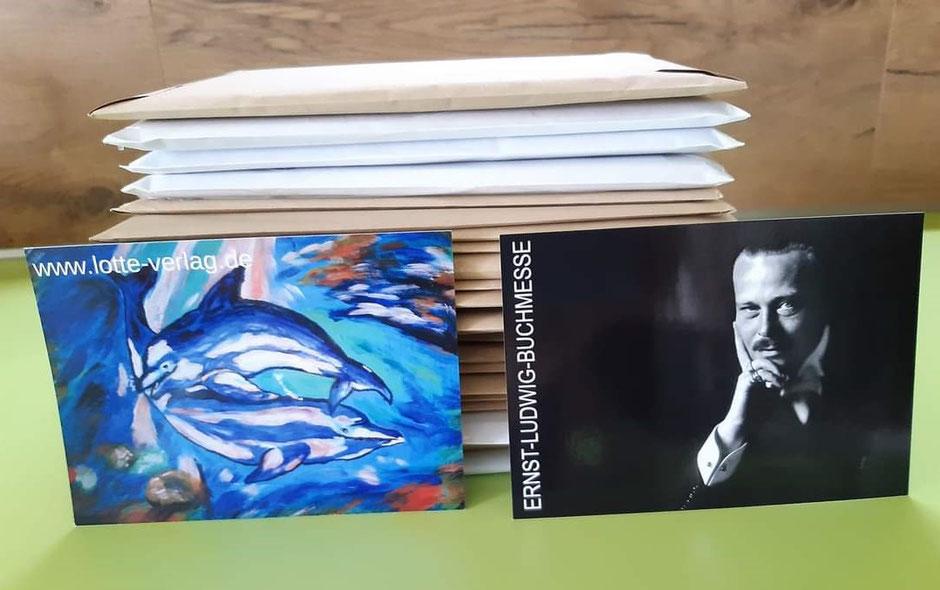 Post an die Gewinner vom Lotte-Verlag, Foto: Frauke Ahlers