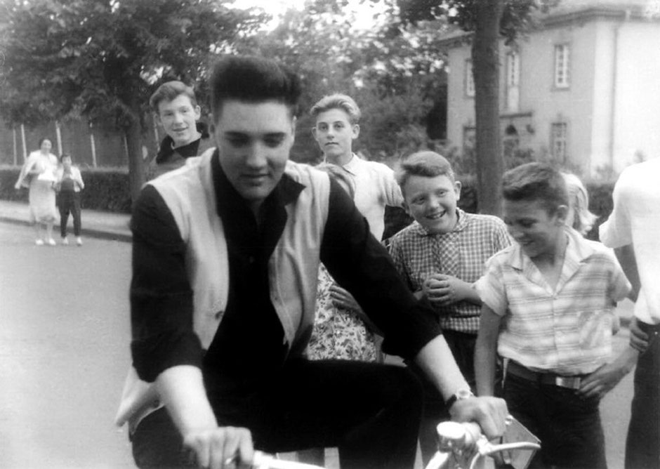 Foto: Elvis in Bad Nauheim