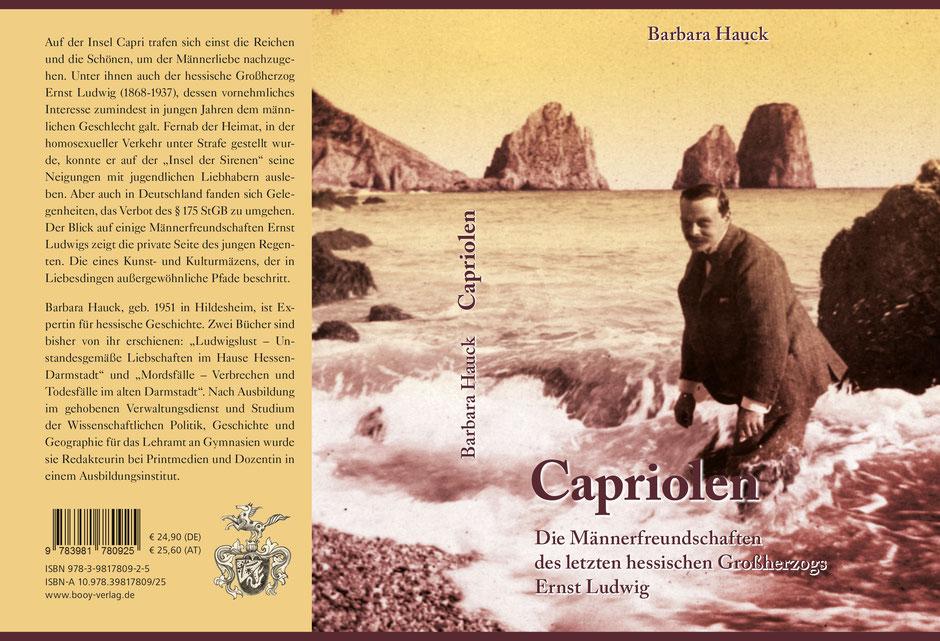 Buchcover: Capriolen von Barbara Hauck