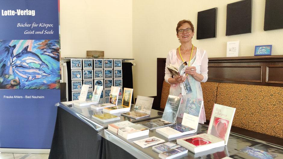 Verlegerin Frauke Ahlers vom Lotte-Verlag bei DENIM FOR LIFE, Foto: Beatrix van Ooyen