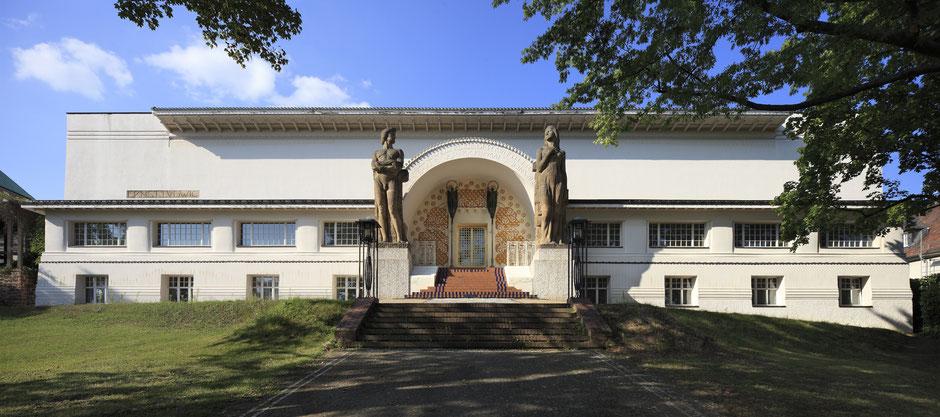 Museum Künstlerkolonie, Ernst-Ludwig-Haus, 1901, Bildarchiv Foto Marburg, Foto: Norbert Latocha