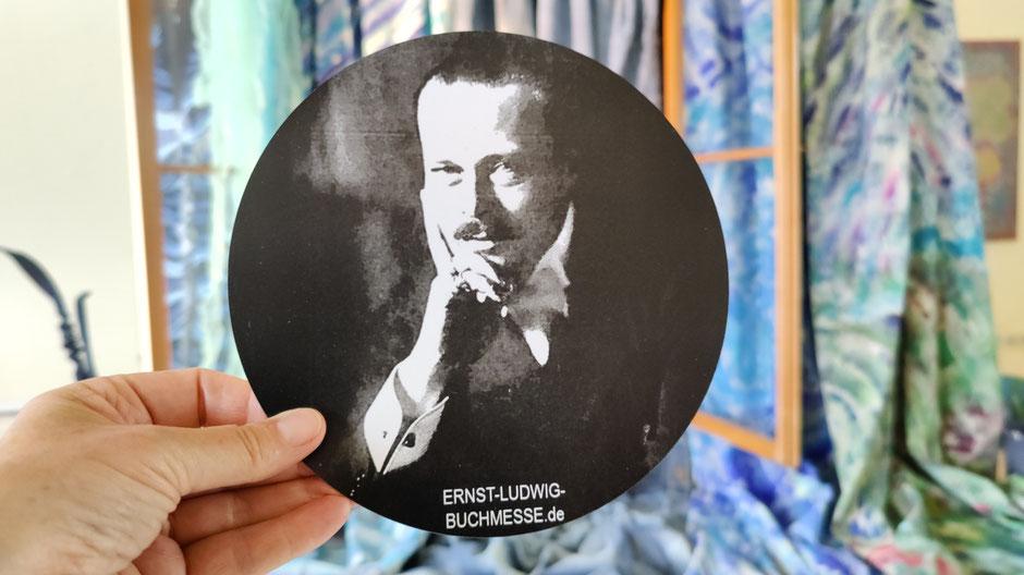 DENIM FOR LIFE von Patrizia Zewe // Steht für die Ernst-Ludwig-Buchmesse: das Foto von Jacob Hilsdorf von Großherzog Ernst Ludwig von Hessen und bei Rhein, Foto: Beatrix van Ooyen