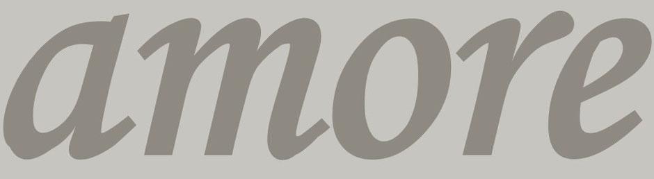 """Virtuelle Ernst-Ludwig-Buchmesse: Sandstein-Buchstaben und Zahlen - ein Wort """"amore"""""""