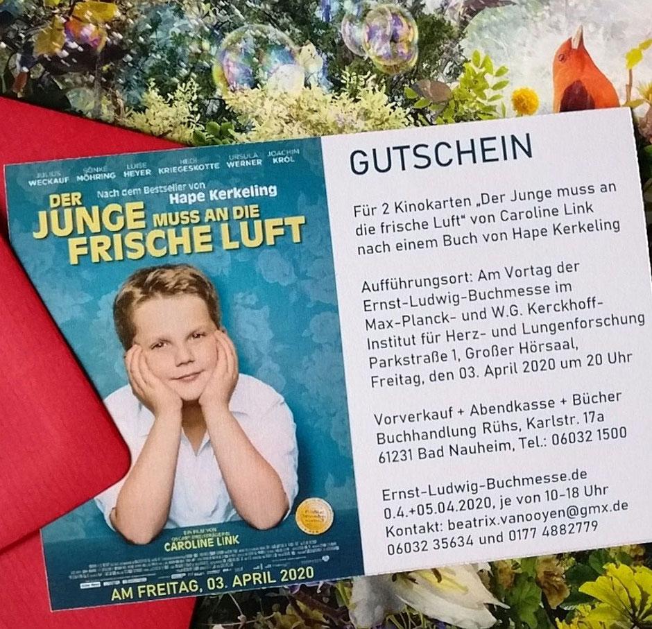 Gutscheine zum Film, Foto: Beatrix van Ooyen