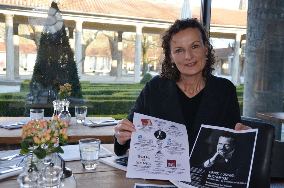 Vorbereitungen zur zweiten Ernst-Ludwig-Buchmesse laufen auf Hochtouren, WZ 15.03.2018, Text und  Foto: Corinna Weigelt
