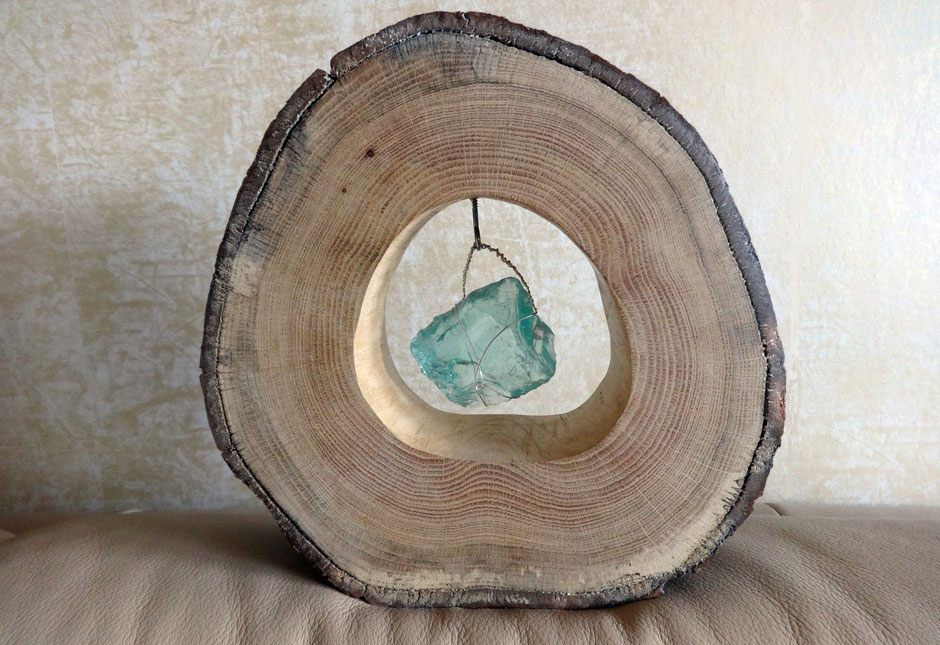 Holzobjekt von Jörg Müller