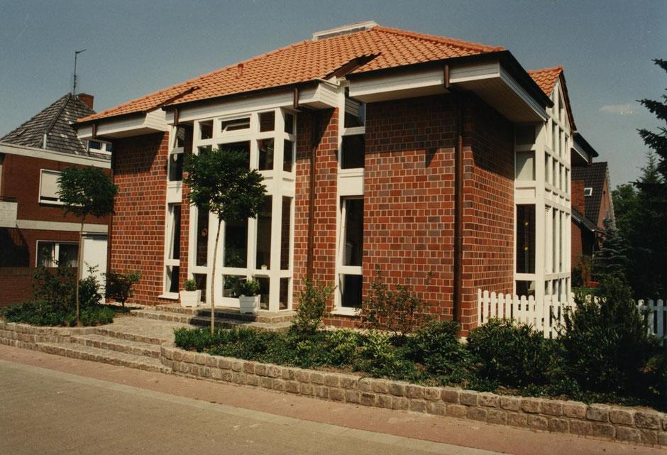 wohnhaus mit galerie