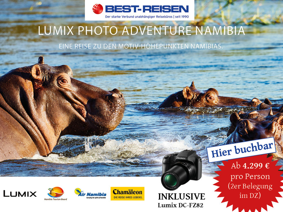 LUMIX Photo Adventure Namibia