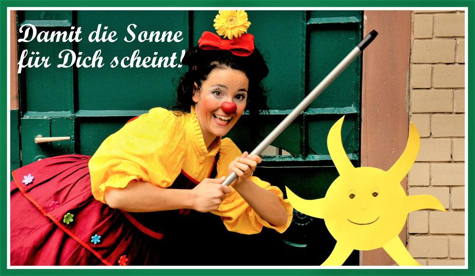 Die therapeutische Clownin aus Esslingen erzählt warum sie als Clown in Pflegeheimen, Altenheimen und Seniorenheimen arbeitet.