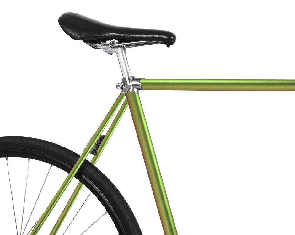 MOOXIBIKE, Folie, Fahrrad, bicycle, grün, avocado, dragon, matt