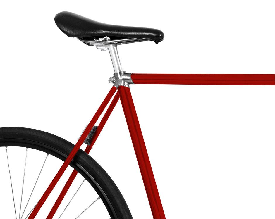 Folie, Fahrrad, bike, rot, chili, scharf, Tomate, tomato