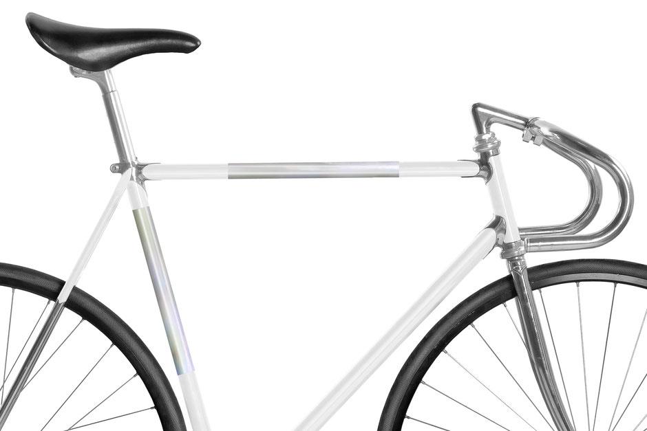 Fahrrad reflektierende Folie Holographic holographisch Folie Space