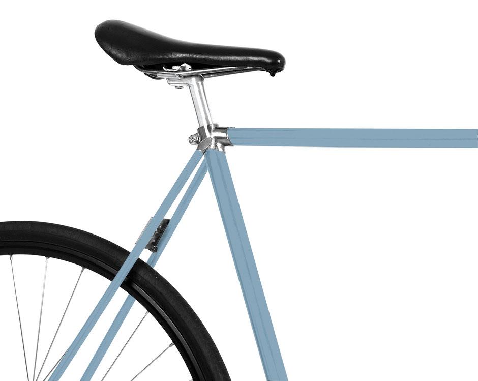 Mooxi-Bike, Folie, nordic blue, pastel, hellblau, Fahrrad, Bike, DIY