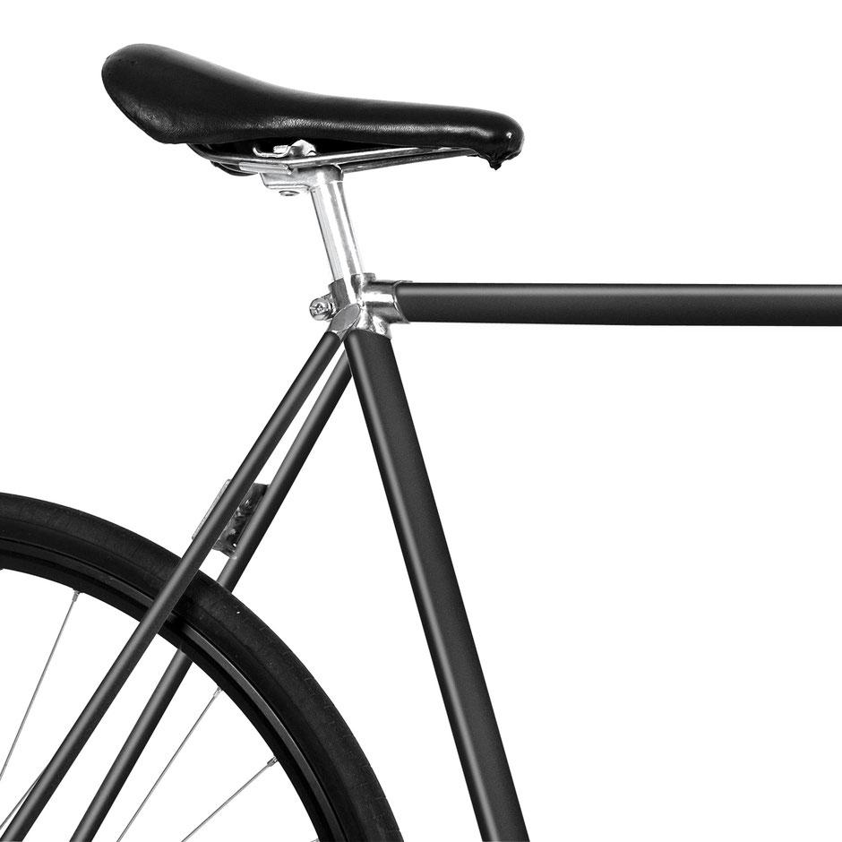 MOOXI-BIKE, Folie, Fahrrad, grau, metallic, 80er style, decal