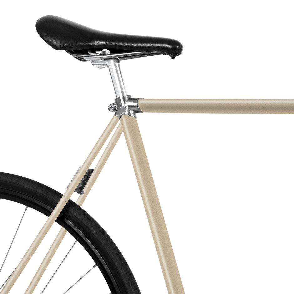 Fahrrad, Bike, champagner, Folie, edel, creme gold