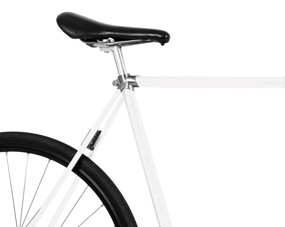 MOOXIBIKE, Folie, Fahrrad, bike, weiß, matt, Perlmutt, schimmernd
