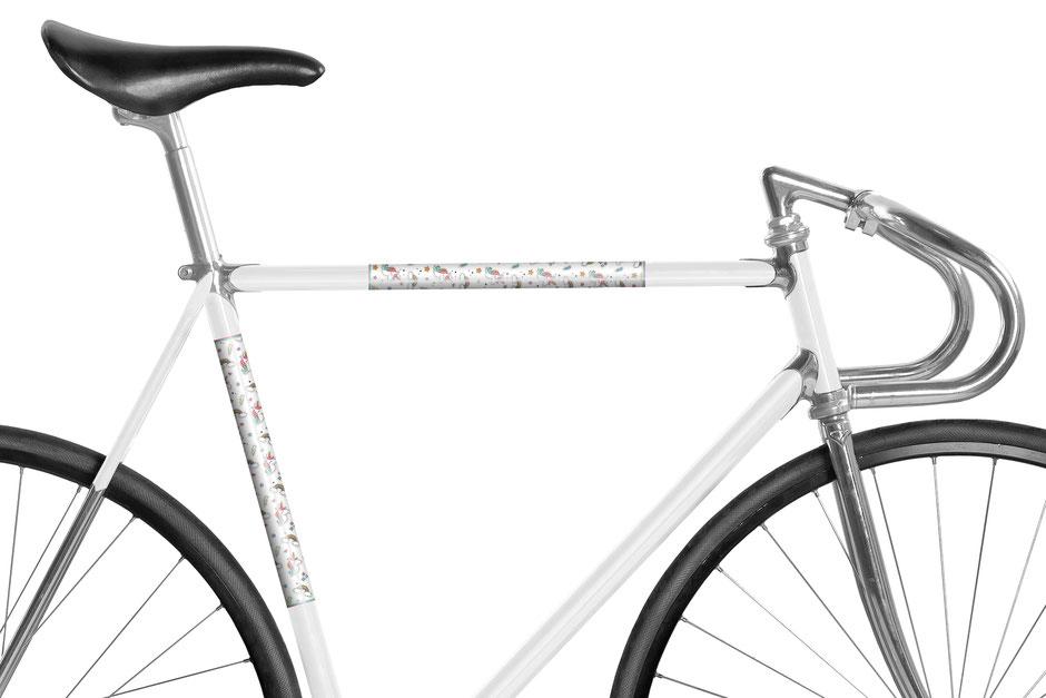 MOOXI-BIKE, Einhorn, Fahrrad, Bike, Panel, Banderole, reflectiv, reflektierend
