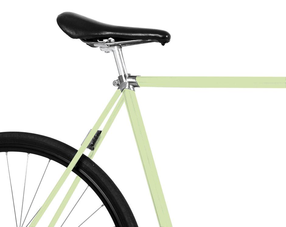 Mooxi-Bike, Fahrradfolie, hell grün, nordic, bike