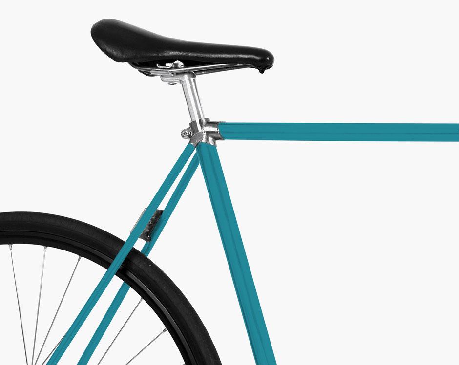 Mooxi-Bike, Fahrradfolie, Lagune, Ocean