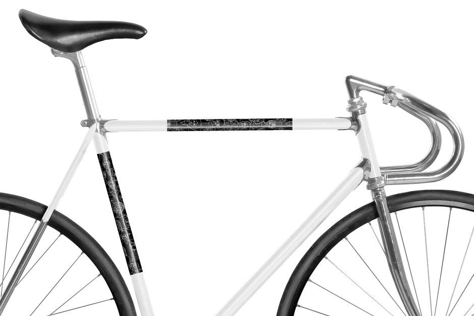 Fahrrad reflektierende Folie Bonnie & Buttermilk Girls black
