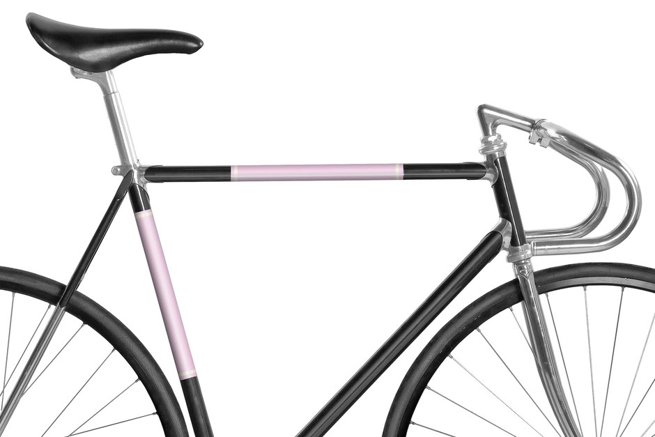 Mooxi-Bike, Fahrrad, reflektierende Folie, Bike, Panel, Banderole, reflectiv, reflektierend