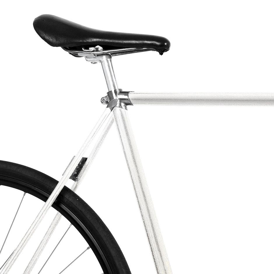 Fahrrad, Bike, Folie, weiß, Glitzer, Sternenstaub, Galaxy