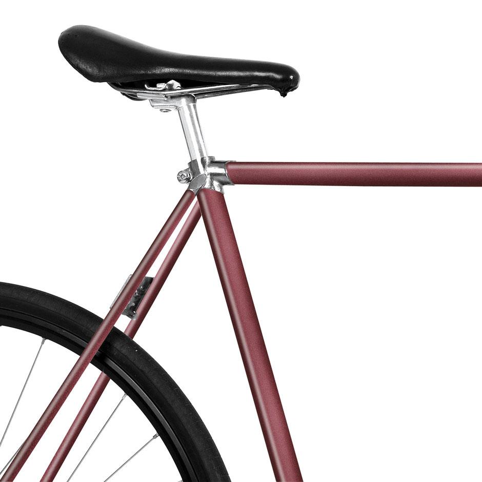 Folie, Fahrrad, bike, French Red, Vampir Blut, Bordeauxrot