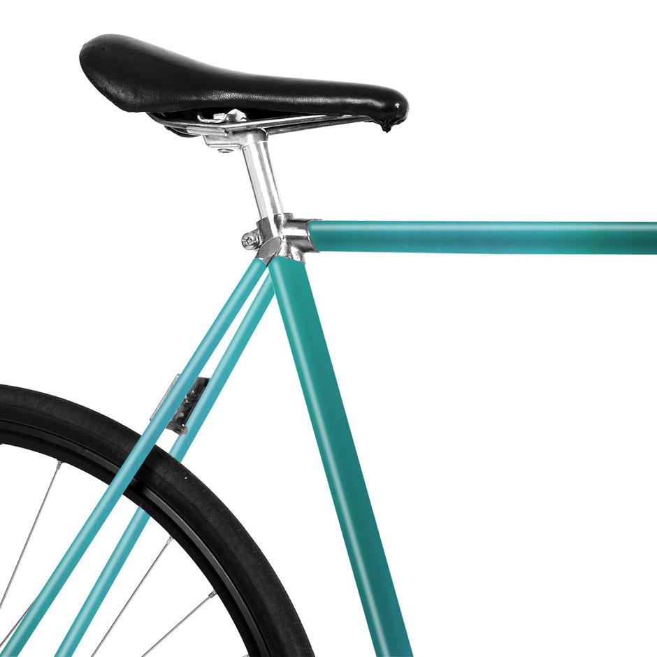 Folie, Fahrrad, bike, Grün, Smaragdgrün, 80er
