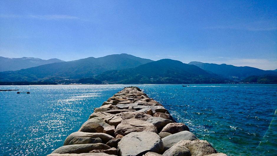 深江漁港の三番波止場 Fukae Horbar