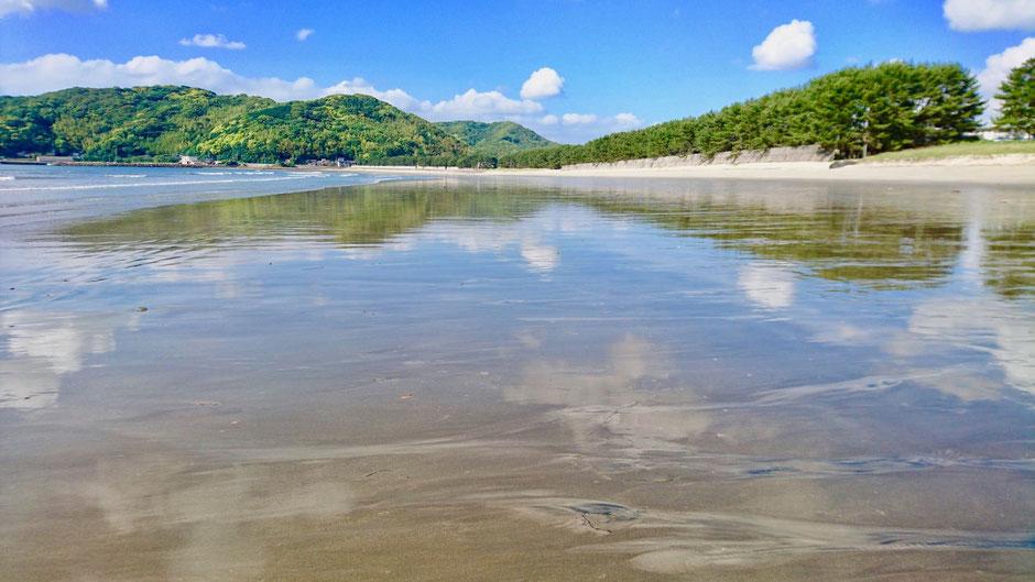 鏡の海 Mirror Beach
