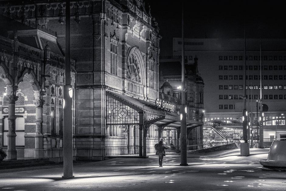 Groningen at night © Jurjen Veerman