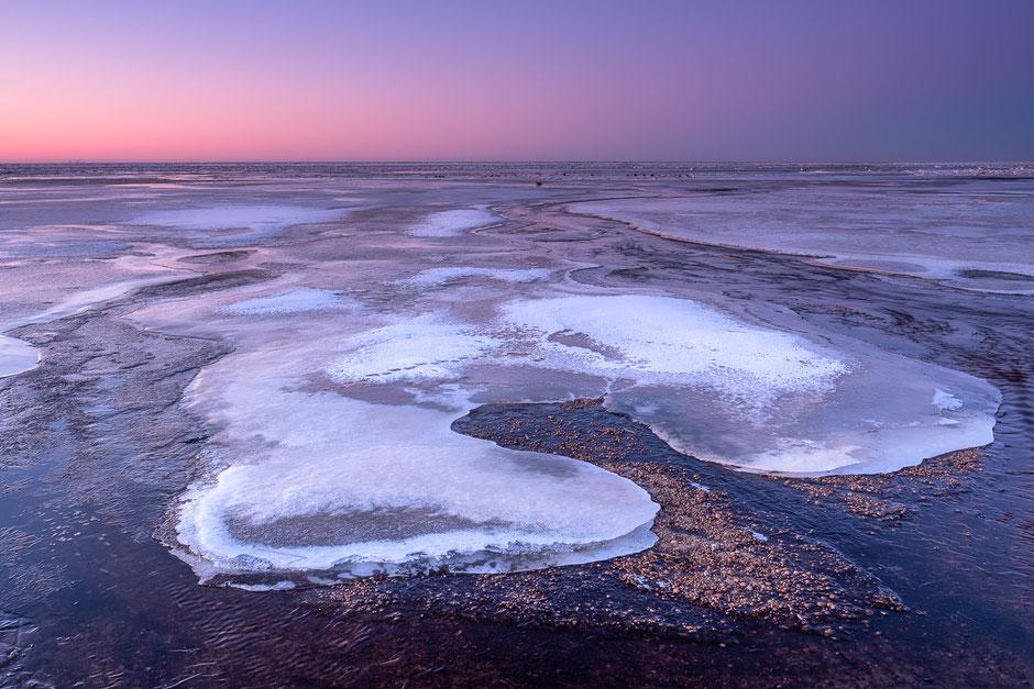 S curves - Noordzeestrand Terschelling © Jurjen Veerman