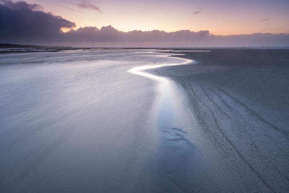 Vloedlijn Noordzeestrand Terschelling © Jurjen Veerman