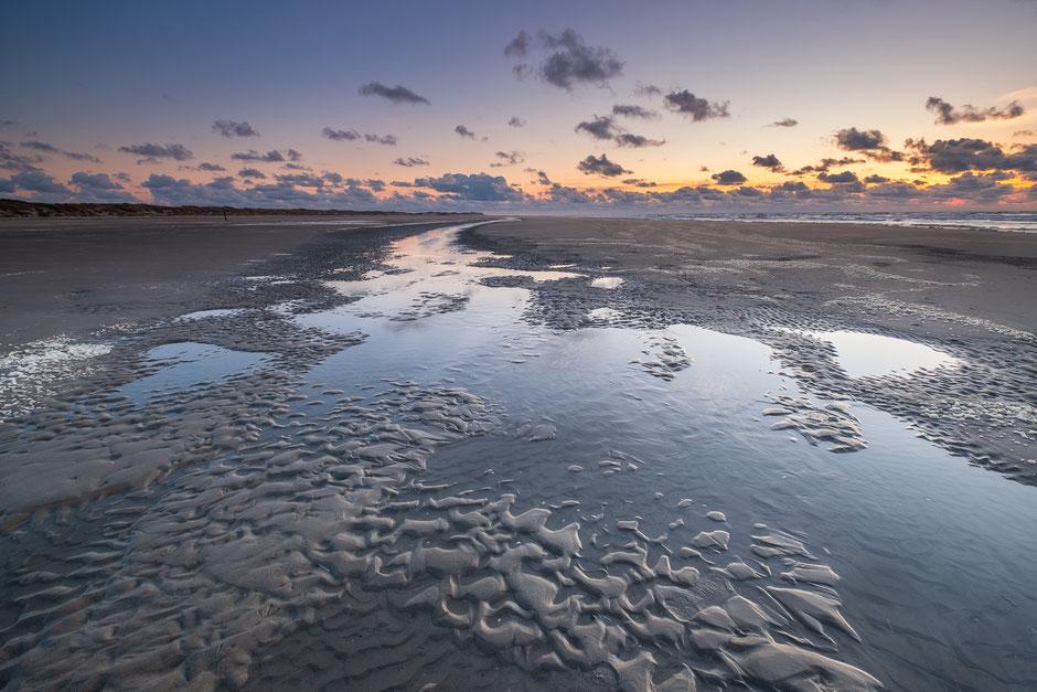 Getijdenstroom Noordzeestrand Terschelling