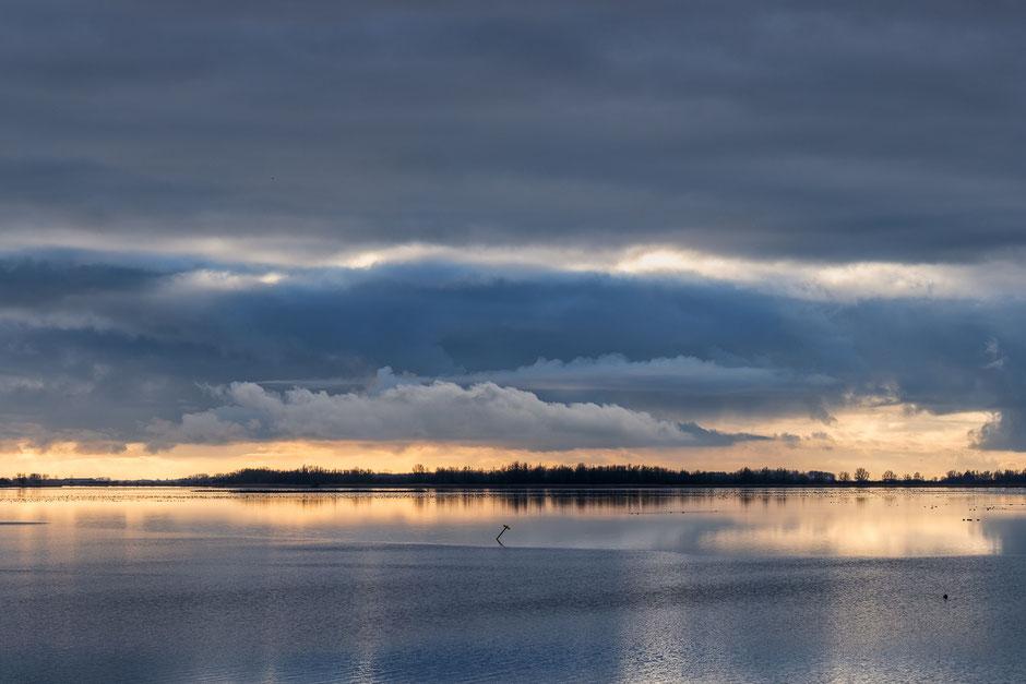 Winterluchten Lauwersmeer