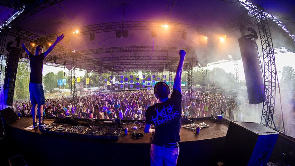 evenementen festival  overkapping Perfect Skyroof XXL huren ivento structures