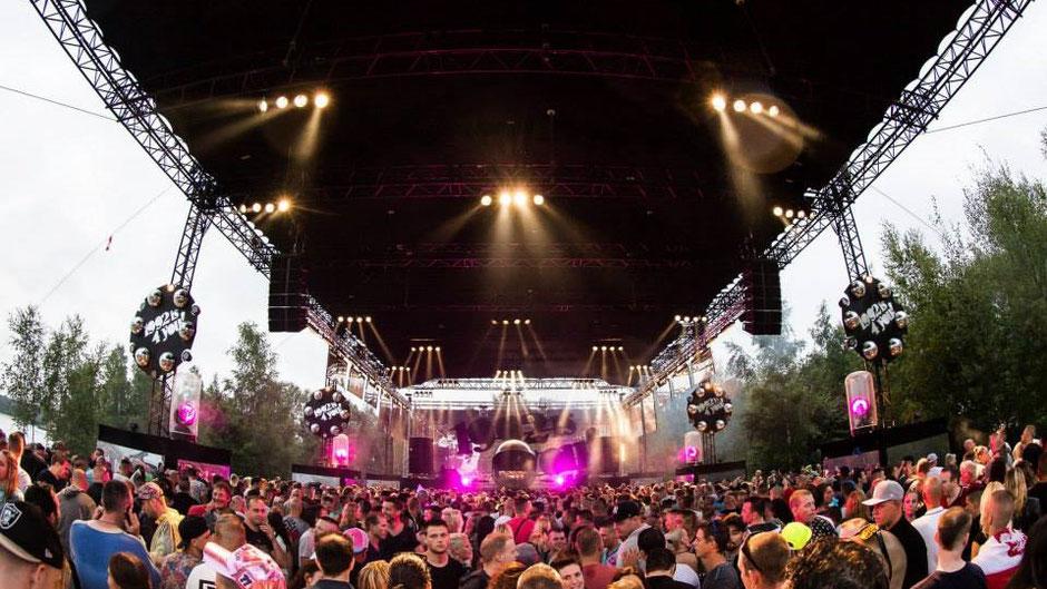 Festival overkapping perfectsky Skyroof evenementen ivento