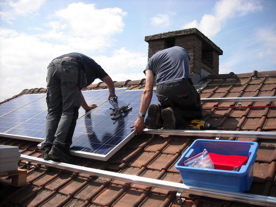 Solaranlagen sparen Energie