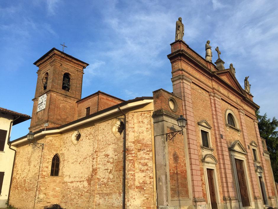 小さなブルノの街の教会