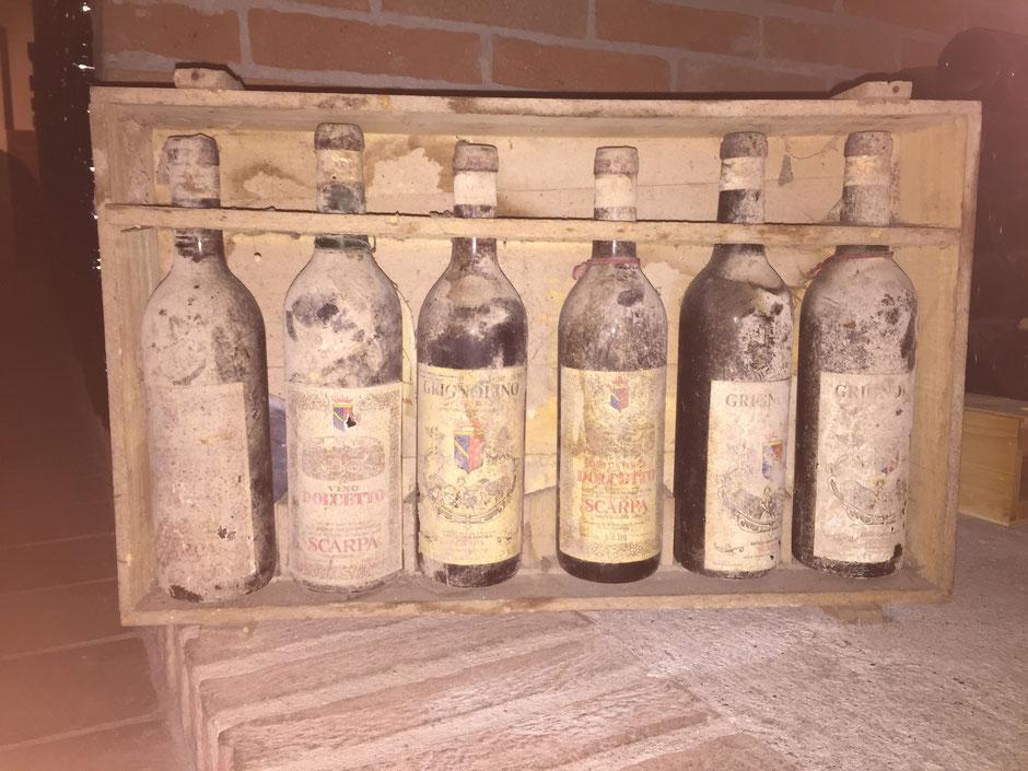 Antica Casa Vinicola Scarpa どれくらい古いのか...