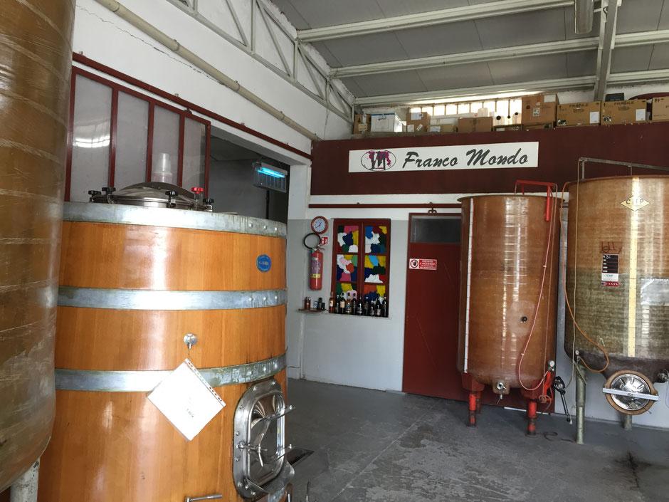 Barbera d'astiと Moscato d´Asti のFranco mondo