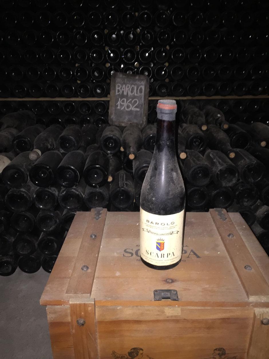 Antica Casa Vinicola Scarpa バローロ 1962年もの これぞ50saikaraのワイン(笑