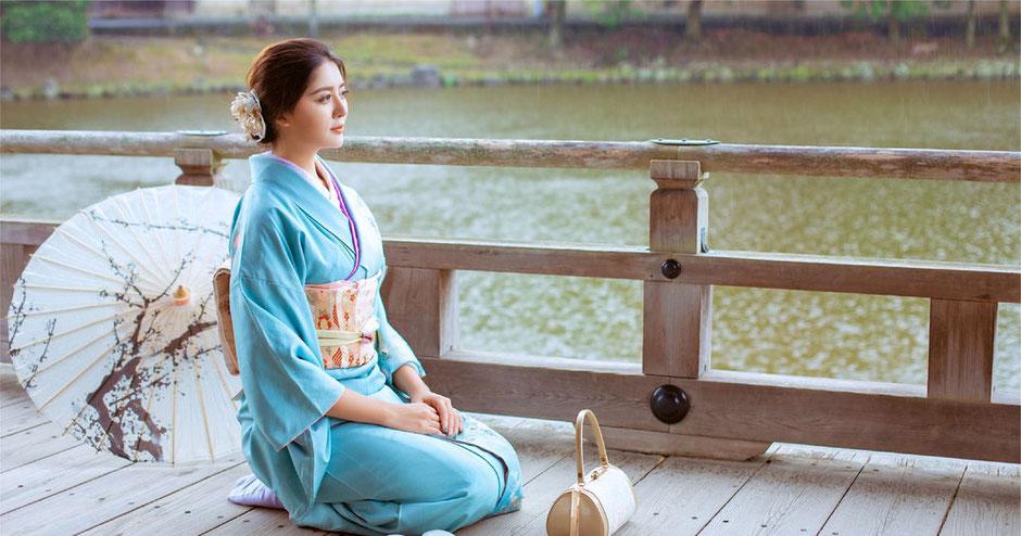 訪問着レンタル奈良 奈良公園