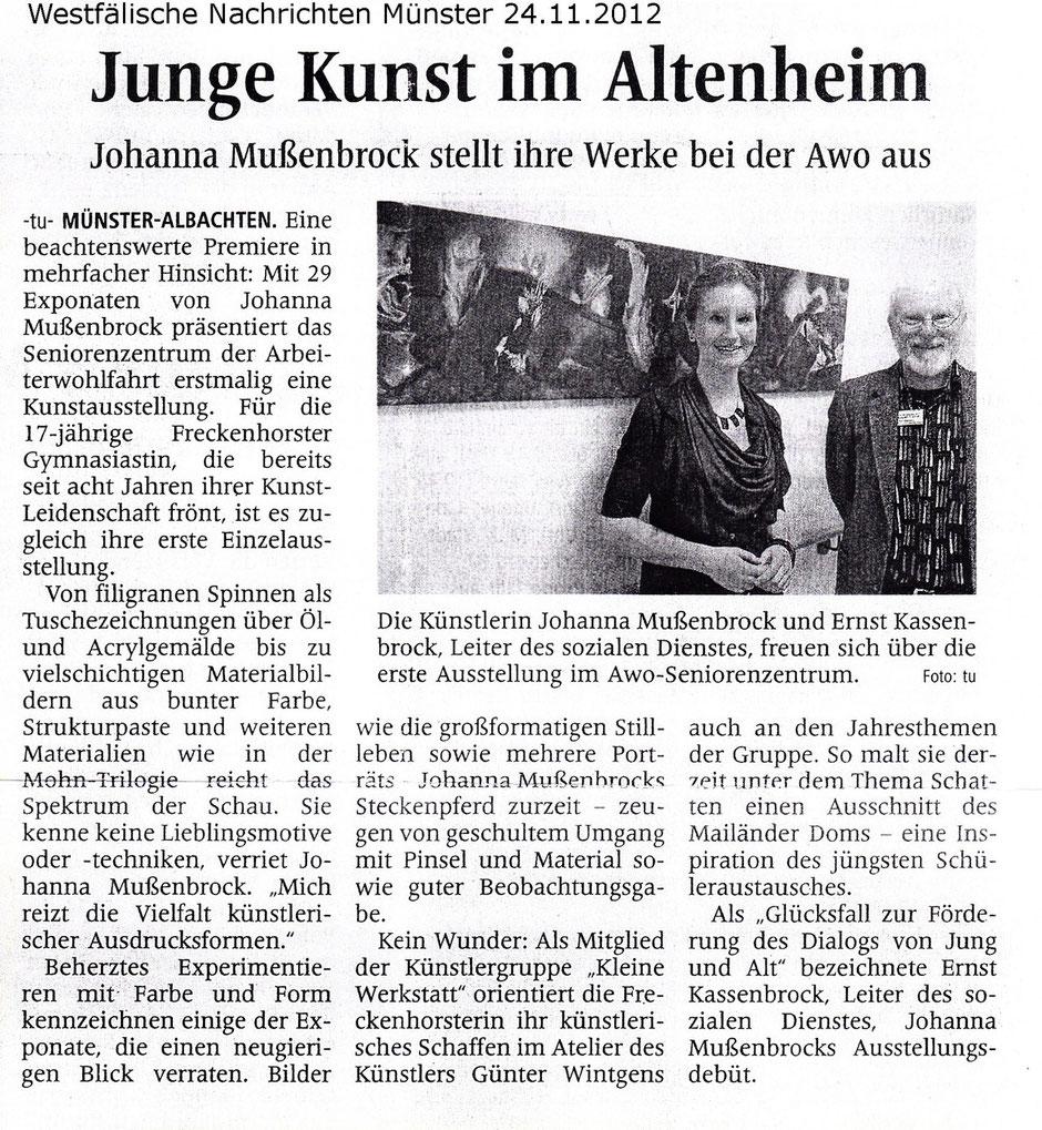 Johanna Mußenbrock AWO Münster