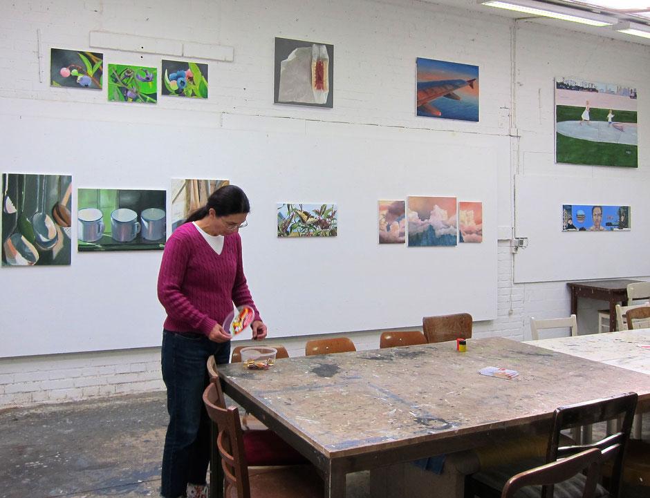 Malen und zeichnen im Atelier Malkasten in Freckenhorst