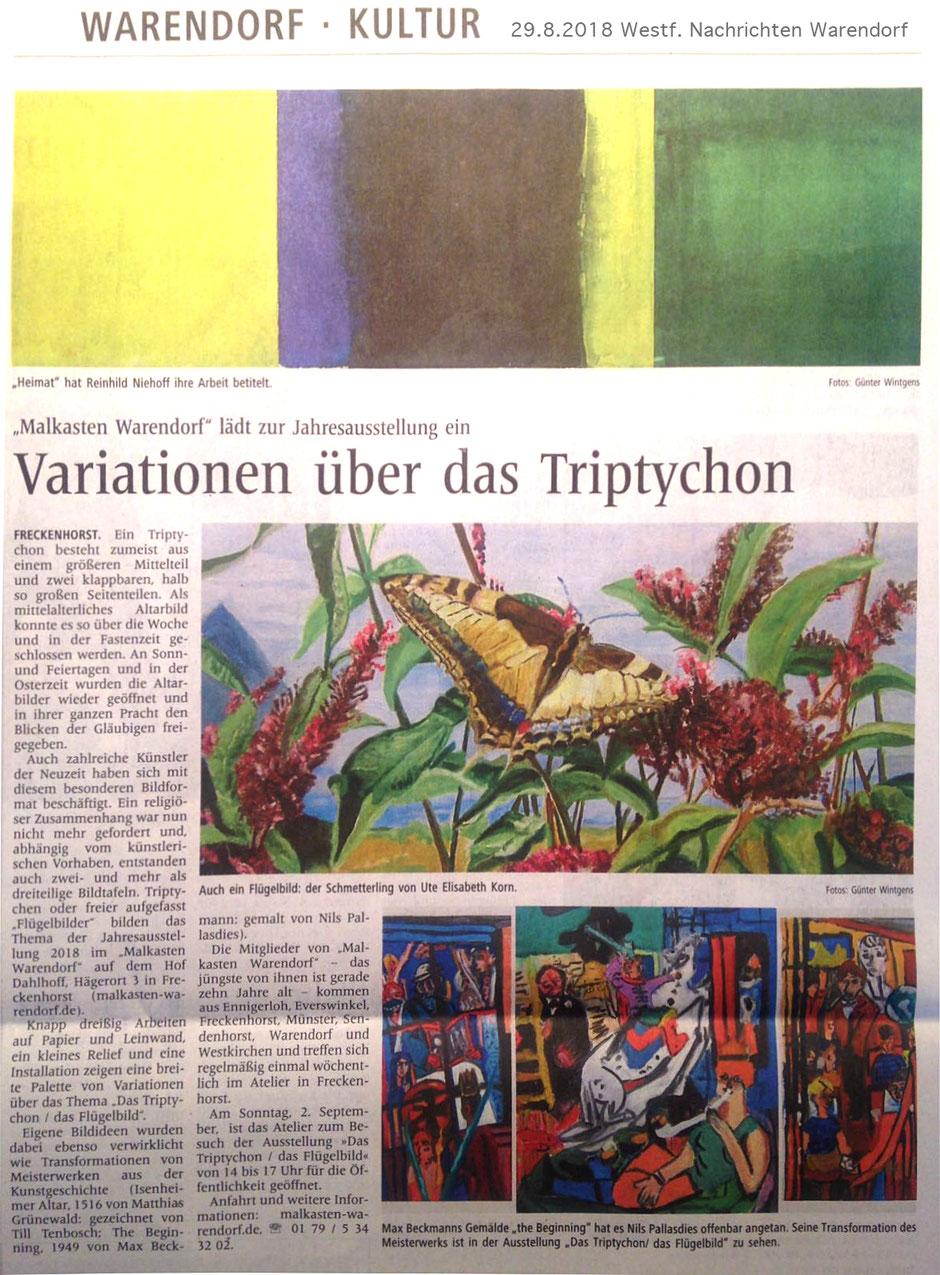 Malen und zeichnen lernen in Warendorf, Malkasten Warendorf